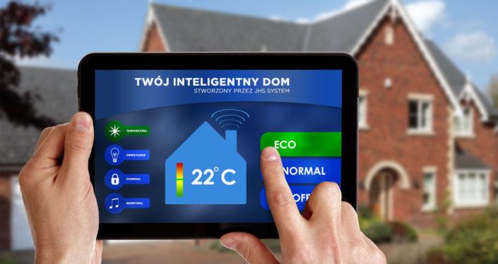 Aplikacja Inteligenty dom na smarfony